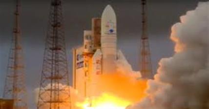 एरियन रॉकेट से इसरो के जीसैट 30 उपग्रह का सफल प्रक्षेपण